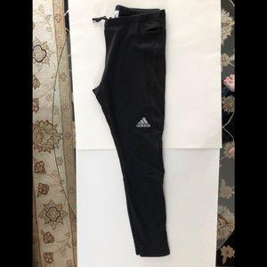 Adidas Women's Fleece Lined Running Leggings, XL